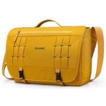 Gonex Messenger Bag Satchel 15 Inch Laptop Bags Crossbody Handbag for Women Men Lady School College Work