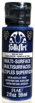 FolkArt Multi-Surface Paint in Assorted Colors (2 oz), 2925, Ink Spot