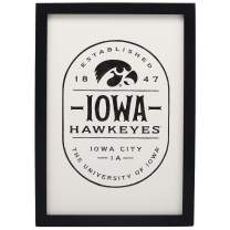 """Open Road Brands NCAA Collegiate University 10""""x14"""" Badge Wood Wall Décor"""