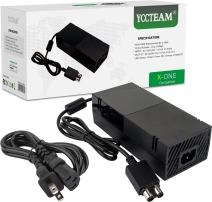Xbox One Power Supply Brick,AC Adapter Power Supply Charger Cord Replacement for Xbox One 100-240V [Advanced Quiet Version]