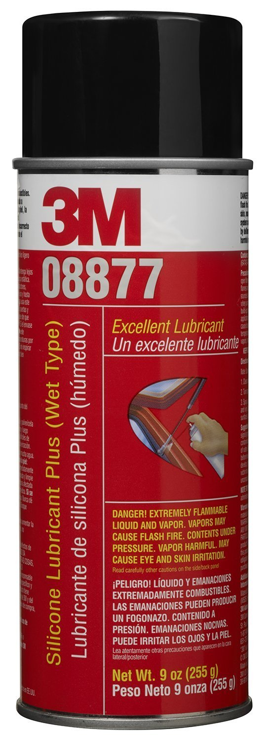3M 08877 Silicone Lubricant Plus (Wet Type) (Pack of 12)