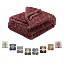 Msicyness Dog Blanket, Premium Fleece Fluffy Throw Blankets Soft and Warm Covers for Pets Dogs Cats(X Large Brown)
