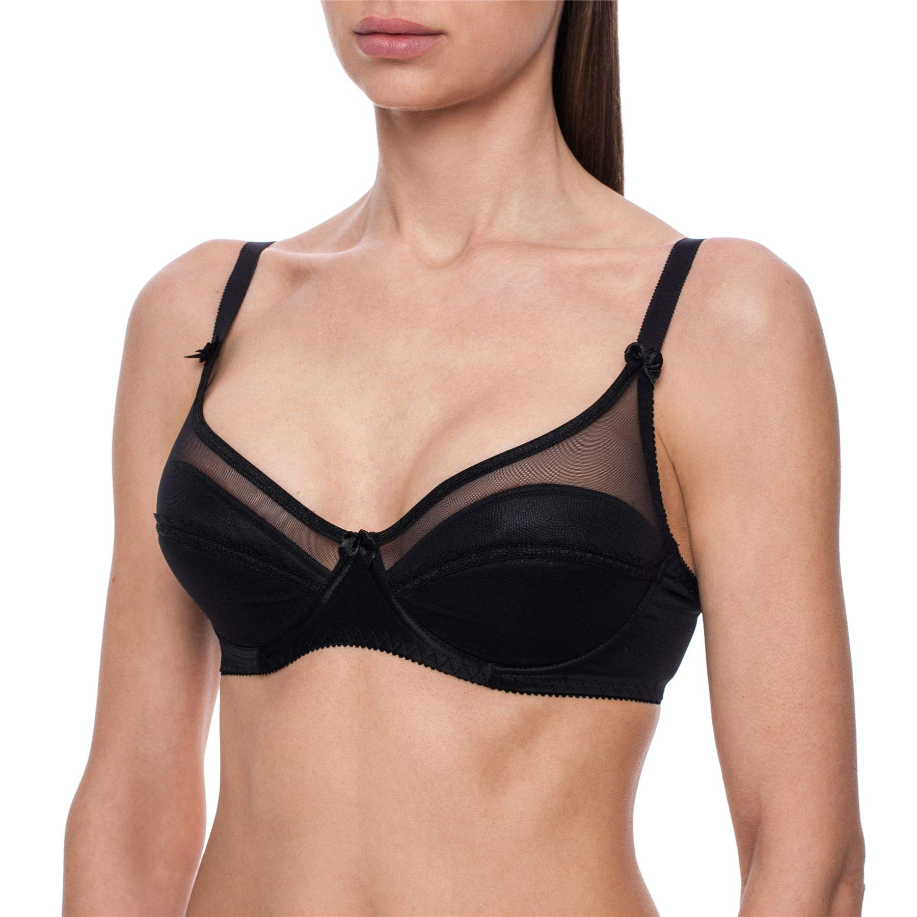 frugue Women's Minimizer Full Coverage Plus Size Underwire Padded Bra
