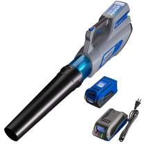 Westinghouse 40V Cordless Leaf Blower, 4.0 Ah Battery and Charger Included