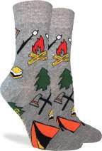Good Luck Sock Women's Camping Socks - Grey, Adult Shoe Size 5-9