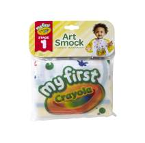Crayola Art Smock for Toddlers, Painting Apron, Waterproof Bib, Age 12 Months and up