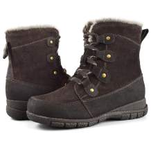 Comfy Moda Women's Wool-Lined Cold Weather Boots Maya
