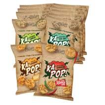 Ka-Pop! Popped Chips, Variety Pack (1oz, Pack of 12) - Allergen Friendly, Sorghum, Gluten-Free, Paleo, Non-GMO, Vegan, Whole Grain Snacks, As Seen on Shark Tank