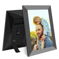 YENOCK Digital Picture Frame,10 Inch WiF Digital Photo Frame,HD IPS Motion Sensor Electronic with Touch Screen,16GB Storage Space,APP/Facebook/Twitter,Etc Share Photos Or Videos Instantly