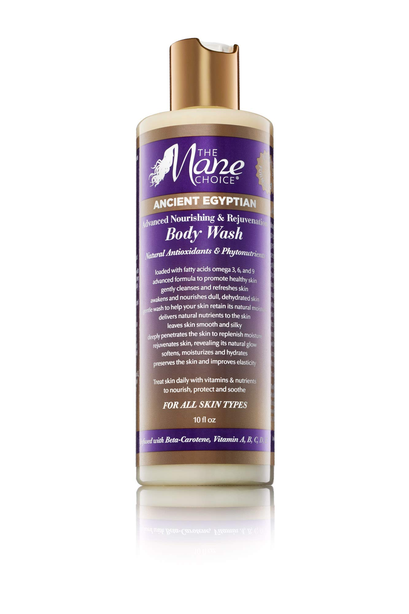 THE MANE CHOICE Ancient Egyptian Advanced Nourishing & Rejuvenation Body Wash - Unique Blend of Vitamins And Nutrients To Soften, Moisturize and Hydrate Your Skin (10 Ounces/295 Milliliters)