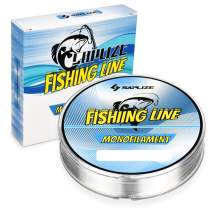 SAPLIZE Monofilament Fishing Line, Super Strong Strength Fishing Line, 6lb-30lb, 300Yds MN01 Series