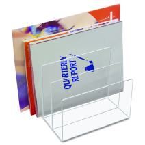 Kantek Acrylic File Sorter, 8-Inch Wide x 6.5-Inch Deep x 7.6-Inch High, Clear (AD45)