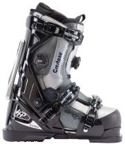 Apex Ski Boots Crestone All Mountain Ski Boots (Men's Sizes 25-31) Walkable Ski Boot System with Open-Chassis Frame for Intermediate/Advanced Skiers
