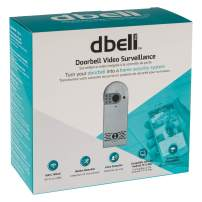 Video Doorbell Camera – Wired + Wi-Fi with Motion and Sound Detector for Home Security – 2-Way Audio Lets You Listen and Reply, Records to NVR, NAS, SD, Dropbox, OneDrive, iCloud to Preserve Activity