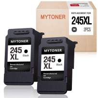 MYTONER Remanufactured Ink Cartridge Replacement for Canon 245 PG-245XL PG-243 Ink for Pixma MX492 MX490 MG2420 MG2520 MG2522 MG2920 MG2922 MG3022 MG3029 iP2820 TR4520 TS3122 TS3120 TS202(2 Black)