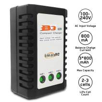 VOLANTEXRC LiPo Battery Charger 2S-3S RC Balance Charger 7.4-11.1V B3AC Pro Compact Charger