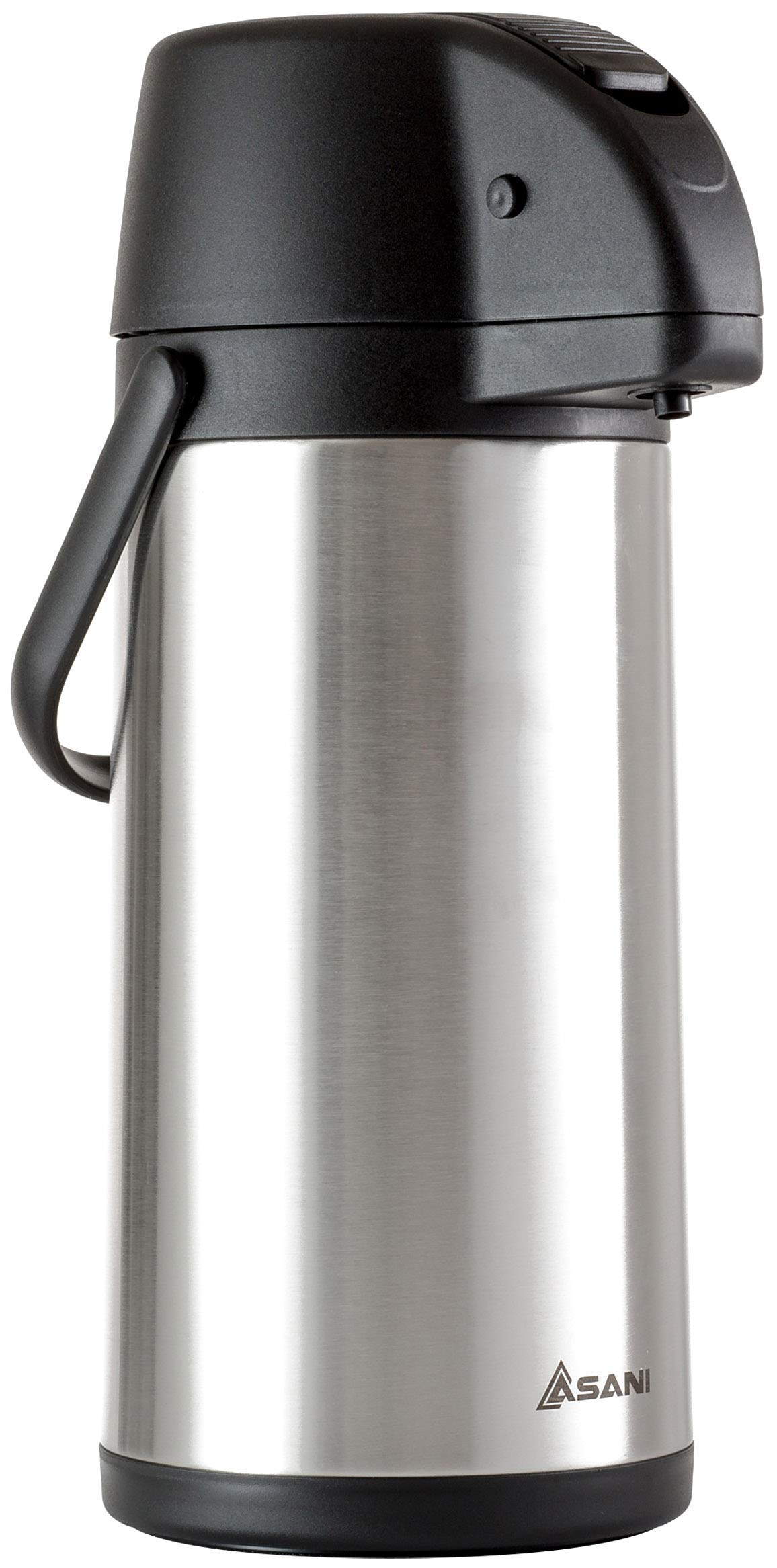 Thermal Coffee Airpot Carafe (101oz)   17-Cup Insulated Thermos with Pump Beverage Dispenser   20-Hour Hot and Cold Insulation   Stainless Steel Urn for Tea, Water, Coffee, Iced Drinks