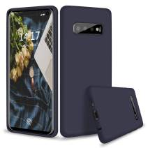 abitku Galaxy S10 Plus Case Silicone, Slim Liquid Silicone Gel Rubber Shockproof Soft Microfiber Cloth Lining Cushion Compatible with Galaxy S10 + 6.4 inch 2019