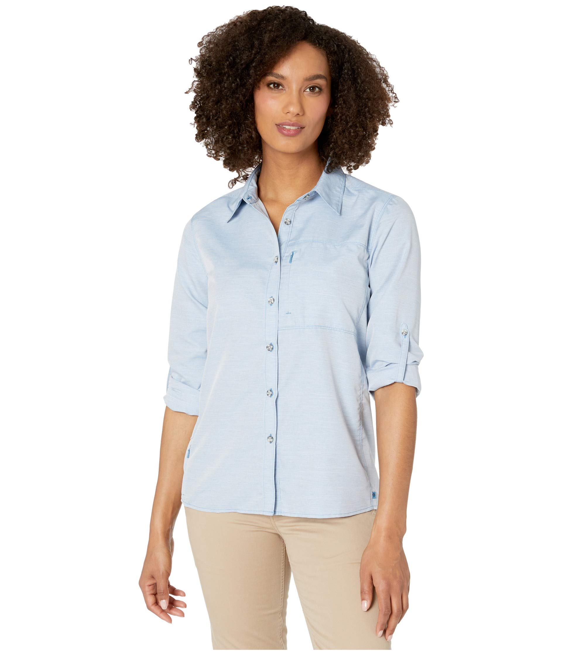 Mountain Hardwear Canyon Women's Long Sleeve Shirt for Hiking and Everyday