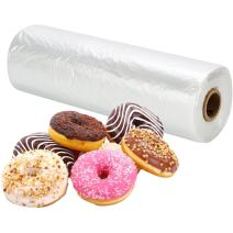 """RBHK 12"""" X 20"""" Plastic Produce Bag on a Roll Clear Food Storage Bags for Fruits Vegetable, 350 Bags"""