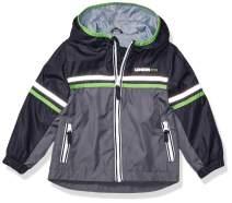 LONDON FOG Boys' Big Chest Stripe Poly Lined Jacket