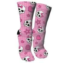 ULQUIEOR Women's Cotton Moisture Wicking Cushion Athletic Crew Socks