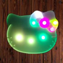 KT Cat Design Marquee Sign Lights, LED Night Light Table Lamp Marquee Letter Lights KT Cat Shape Signs Light Up Christmas Party Home Decoration Battery Operated