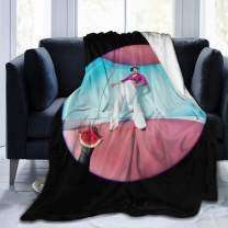 Multicolor Harry Ultra-Soft Micro Fleece Blanket Soft and Warm Digital Printed Blanket Flannel Throw Blanket for Children/Adults 50X40In