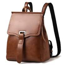 Mini Backpack for Women Convertible Backpack Purse Travel PU Leather Shoulder Bag Flap Daypack