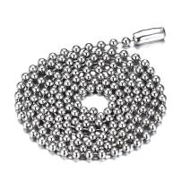 Oakky Unisex Stainless Steel Small Bead/Round Box/NK/Coffee Bean/Flower Pot Chain Necklace