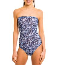 Kiniki Oceana Tan Through Tube Swimsuit Swimwear