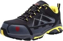 LARNMERN Steel Toe Shoes Men Slip Resistant Anti-Smashing Puncture Proof Construction Shoe