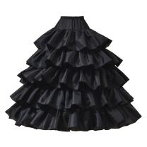 AW BRIDAL 6 Layers Wedding Ball Gown Petticoat Skirt 4 Hoops Slip Crinoline Underskirt