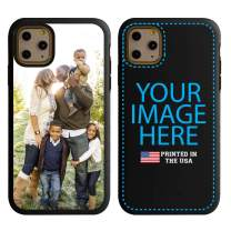 Custom iPhone 11 Pro Max Cases by Guard Dog - Personalized - Make Your Own Protective Hybrid Phone Case (Black, Black)