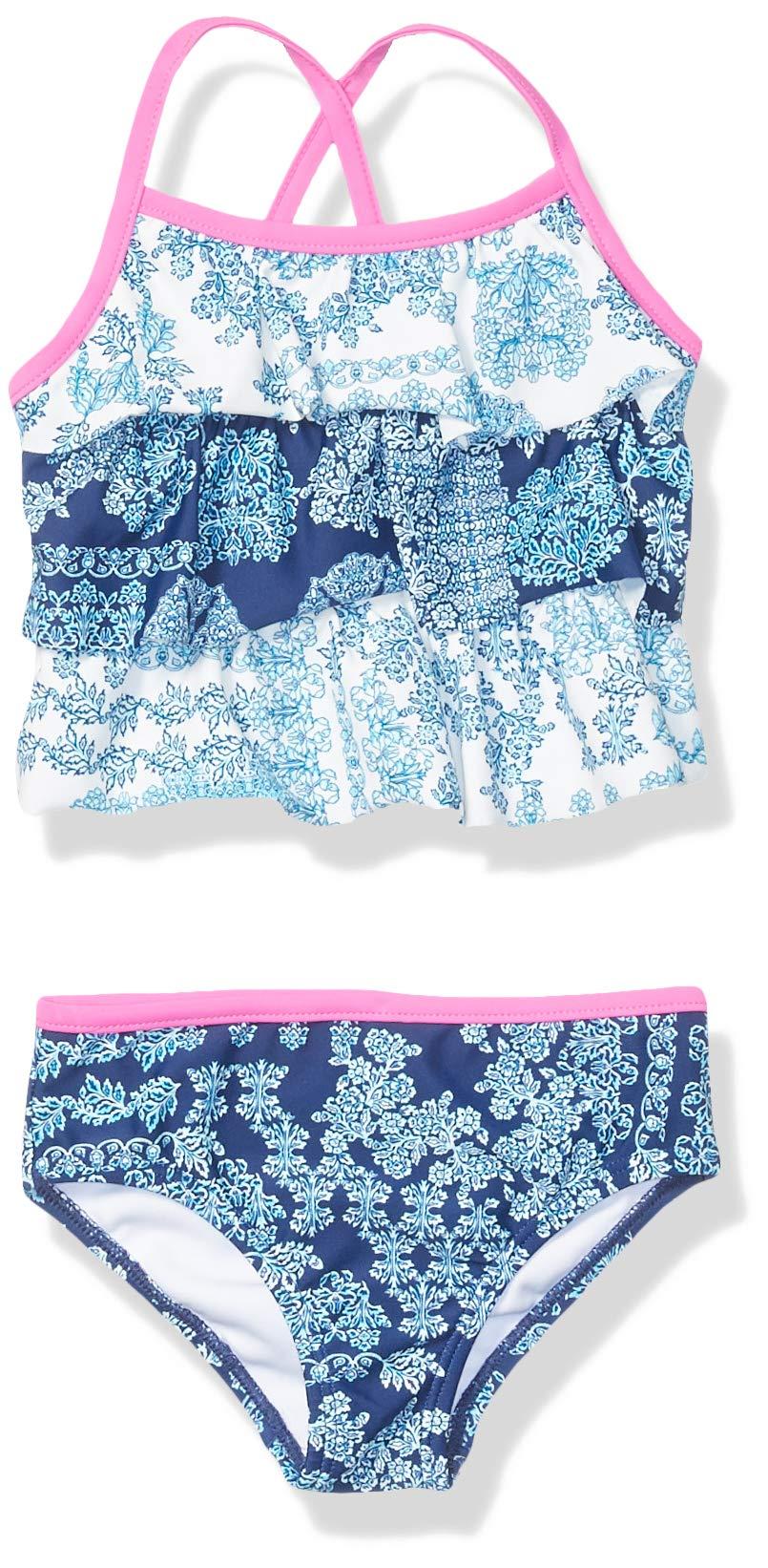 Tommy Bahama Girls' Baby 2-Piece Swimsuit Bathingsuit Bikini