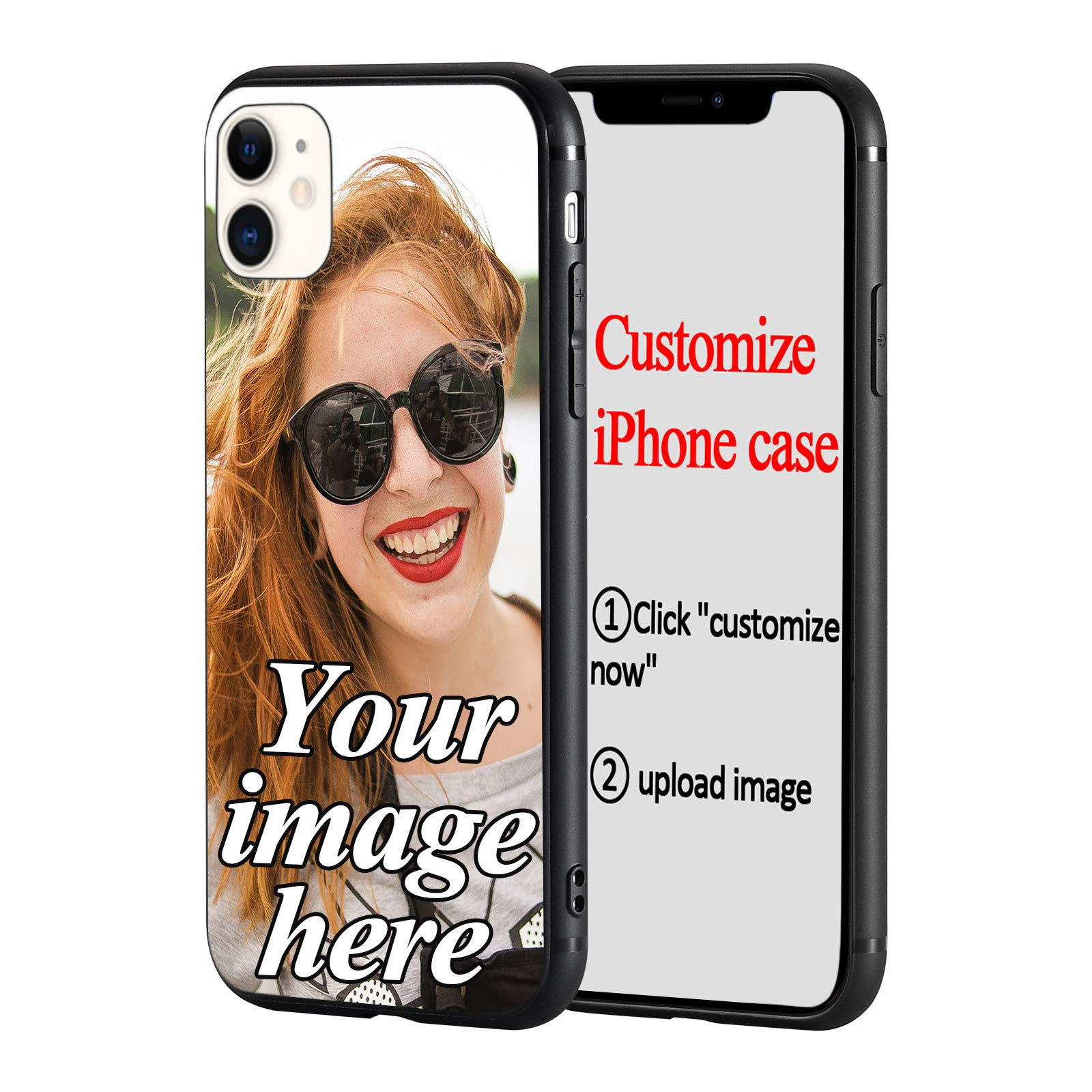 Custom Phone Case for iPhone 11, Personalized Customized Photo Soft Phone Case Compatible with iPhone 11, DIY Create Your Own Photo Picture Design Custom Case for iPhone 11