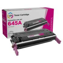 LD Remanufactured Toner Cartridge Replacement for HP 645A C9733A (Magenta)