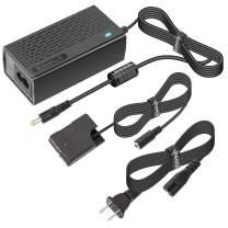 Kimaru EH-5a EP-5A DC Coupler EN-EL14/EN-EL14a Dummy Battery AC Power Adapter Kit for Nikon D5100 D5200 D5300 D5500 D5600 D3100 D3200 D3300 D3400 D3500 Df COOLPIX P7000 P7100 P7700 P7800 Cameras.