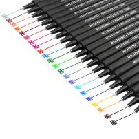 MyLifeUNIT Fineliner Pens, Fine Point Colored Pens for Drawing Journaling and Note-Taking, Planner Pen 22 Assorted Colors