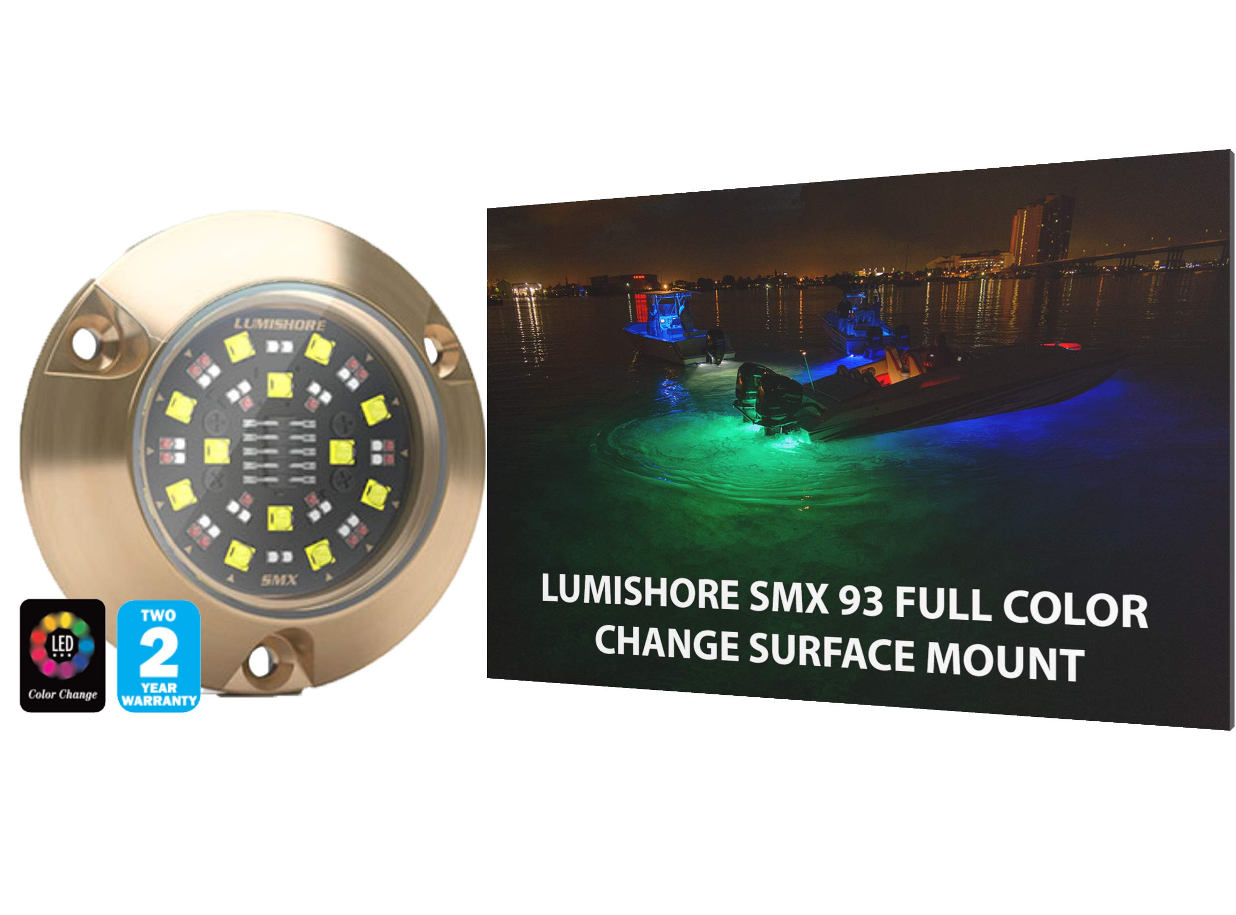 Lumishore SMX93, Full Color Spectrum Select Color Change,4000 Lumens, 60-0315
