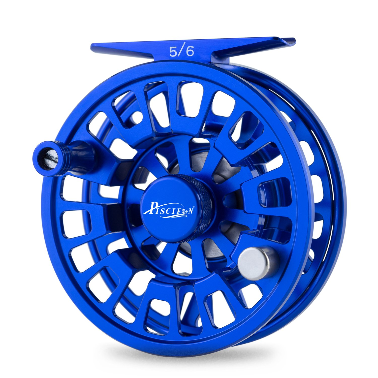 Piscifun Blaze Fly Fishing Reel with CNC-machined Aluminum Alloy Body 3/4, 5/6, 7/8, 9/10(Gold, Brown, Sapphire Blue)