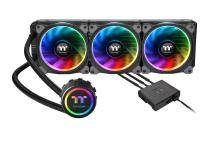 Thermaltake Floe Triple Riing RGB 360 TT Premium Edition PWM TR4 LGA2066 Ready AIO Liquid Cooling System CPU Cooler CL-W158-PL12SW-A