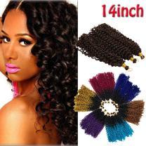 Marlybob Crochet Hair 14 inch 3 lots/pack Grey