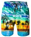 TUONROAD Mens Funny Swim Trunks Quick Dry Beachwear Sports Running Swim Board Shorts Mesh Lining