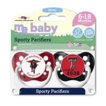 Michaelson Entertainment Pacifier, Texas Tech, 2 Count