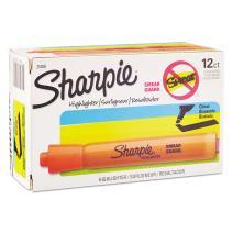 Sharpie, 25006, Accent Tank Style Highlighter, Chisel Tip, Orange, Dozen, Sold As 3 Dozen (36 Total)