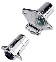 Reese Towpower 74131 Chrome 4-Way Connector