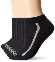PEDS Women's Cushion Quarter Socks, 6 Pairs