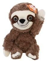 "Animoodles Magnetic Hazel Sloth Stuffed Animal Plush, 7.5"""