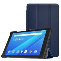 MoKo Case for Lenovo Tab E8, Ultra Compact Protection Slim Lightweight Smart Shell Stand Cover for Lenovo Tab E8 8 Inch 2019 Release Tablet - Indigo